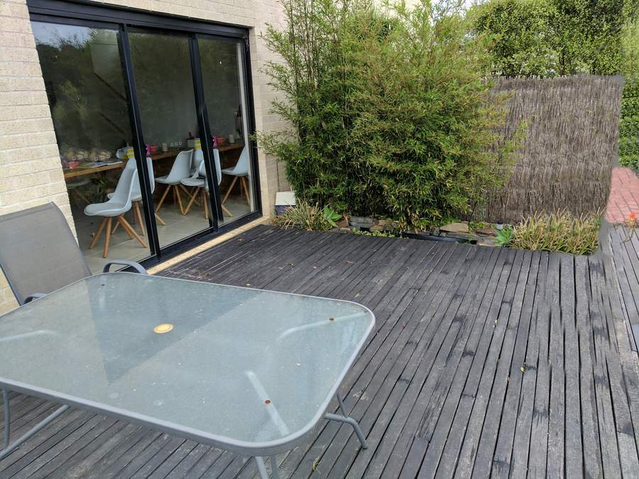 Existing deck