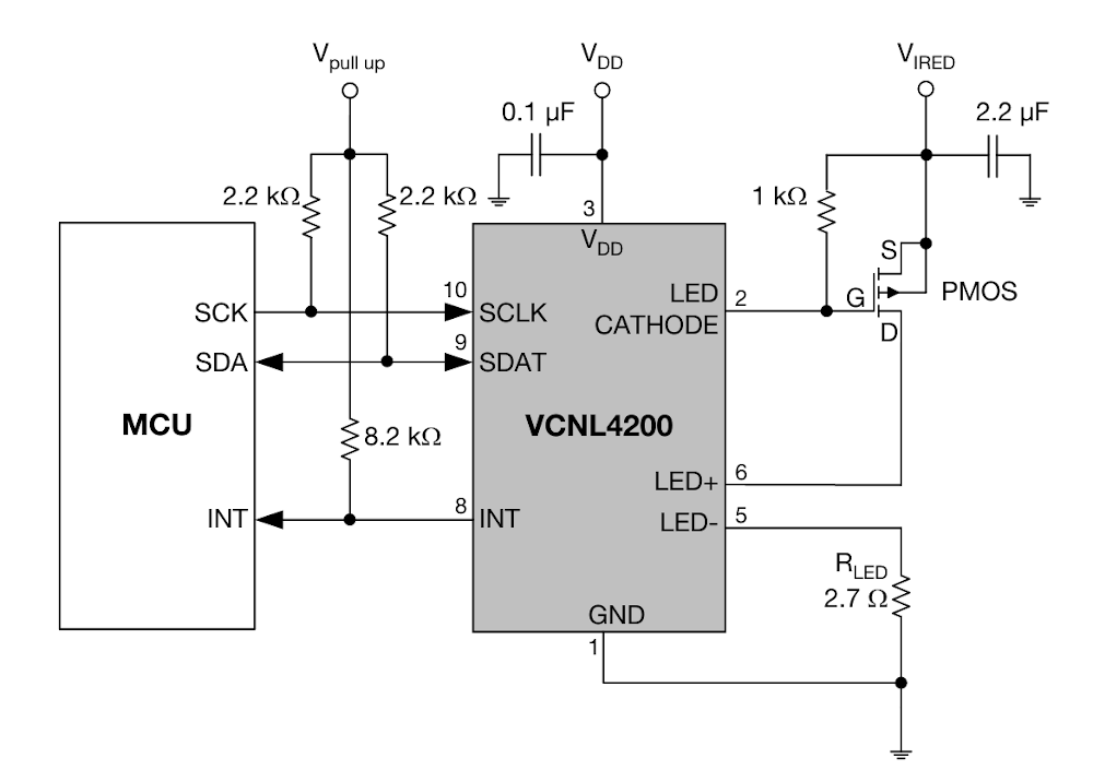 vcnl4200 reference circuit